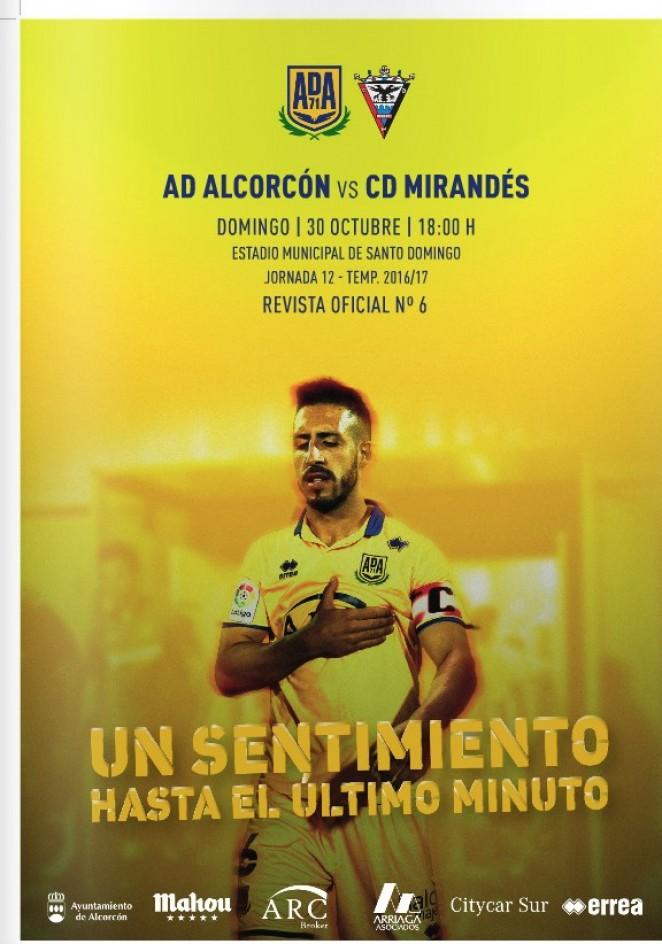 Revista oficial nº 6 AD Alcorcón - Temporada 2016 / 2017