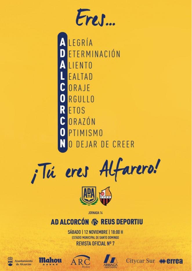 Revista oficial nº 7 AD Alcorcón - Temporada 2016 / 2017