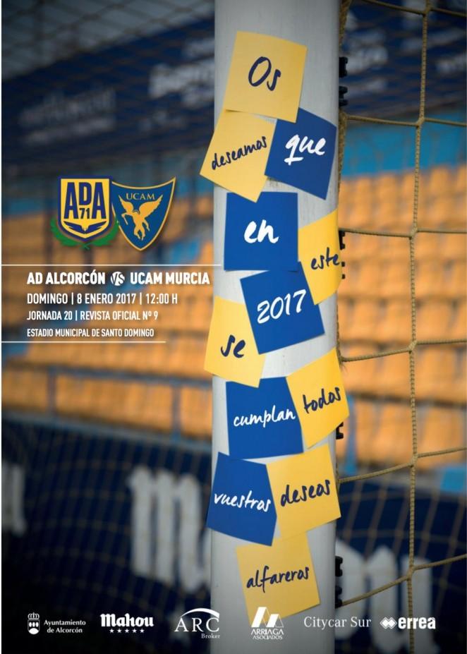 Revista oficial nº 10 AD Alcorcón - Temporada 2016 / 2017