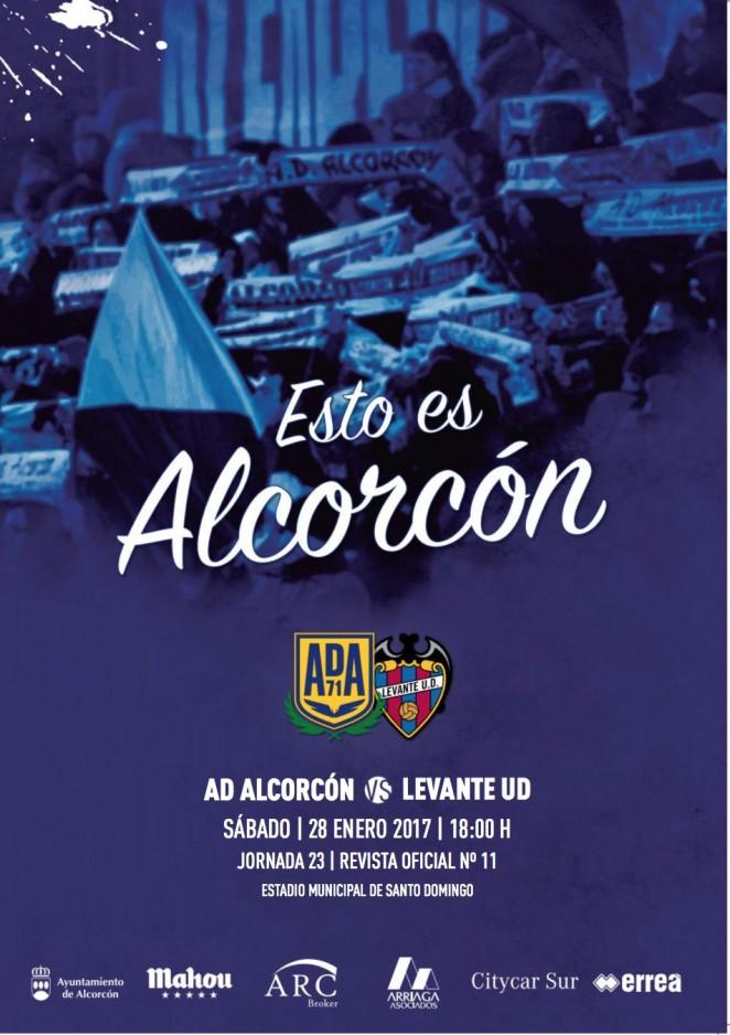 Revista oficial nº 11 AD Alcorcón - Temporada 2016 / 2017