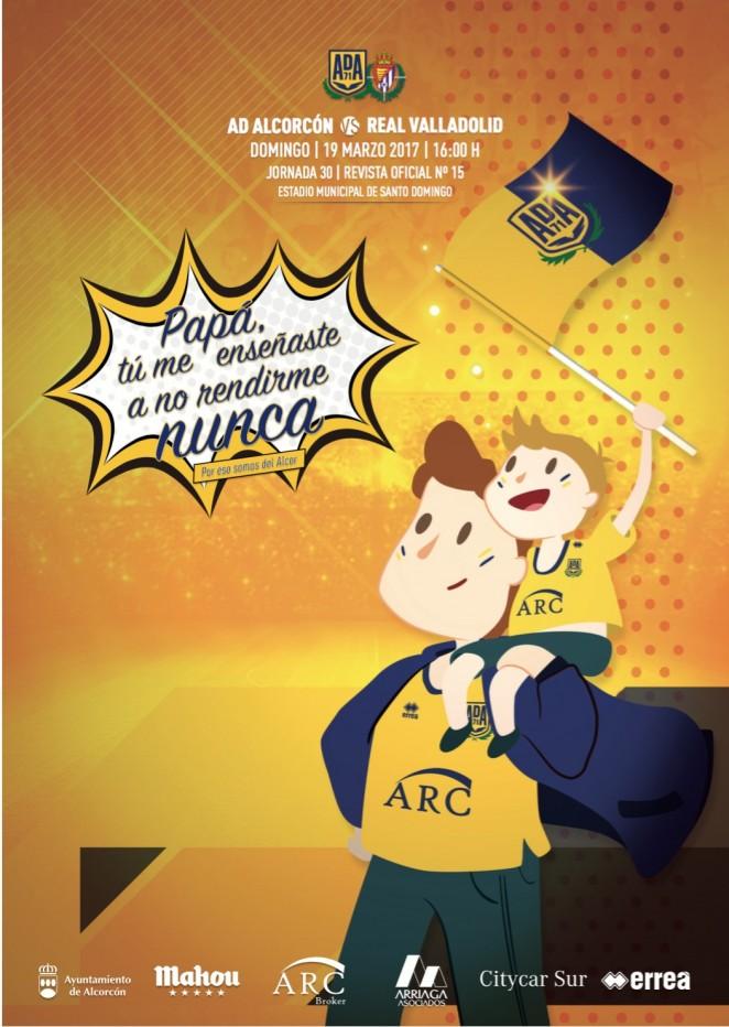 Revista oficial nº 15 AD Alcorcón - Temporada 2016 / 2017