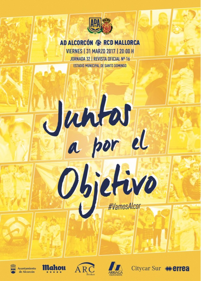Revista oficial nº 16 AD Alcorcón - Temporada 2016 / 2017