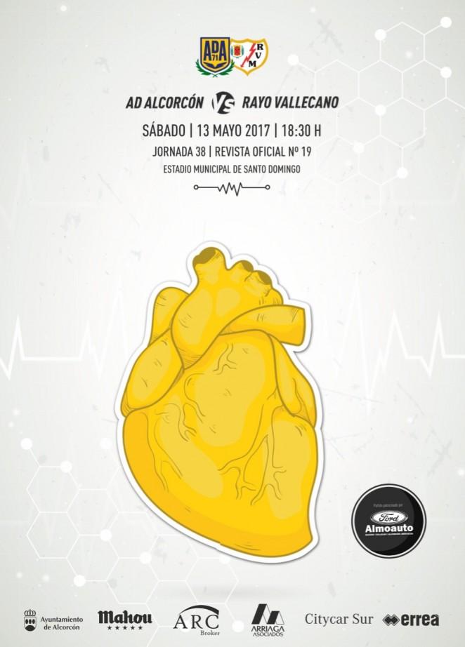 Revista oficial nº 19 AD Alcorcón - Temporada 2016 / 2017