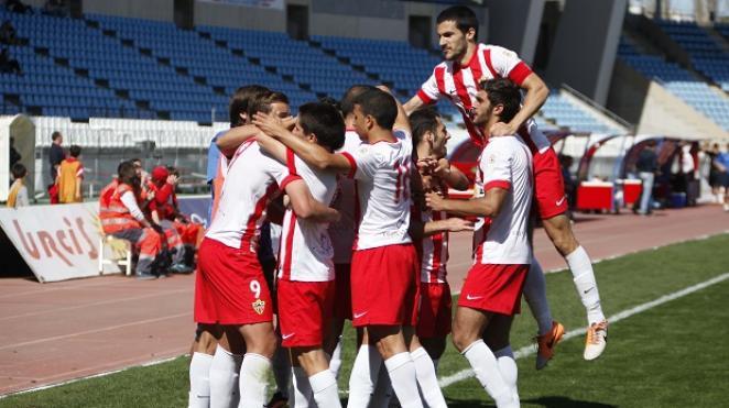 2-0: El Almería B sale de los puestos de descenso en el grupo cuarto ...