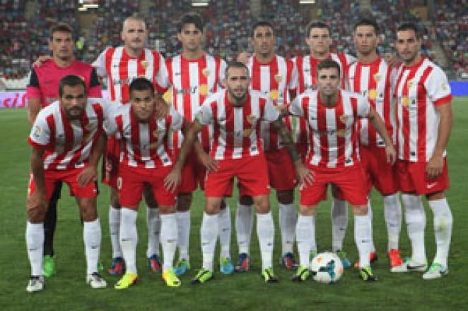El equipo que saltó al campo frente al Villarreal