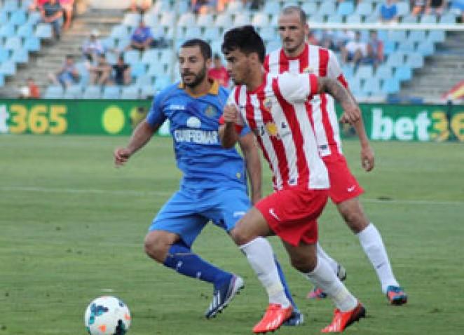 El Almería pudo golear al Getafe