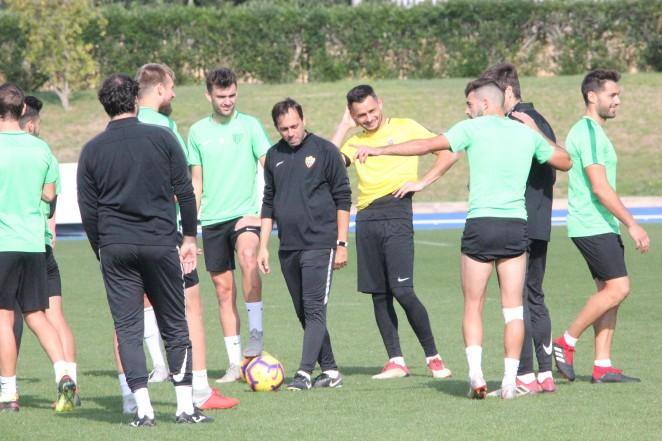 El último entrenamiento de la UD Almería (Foto: UD Almería).