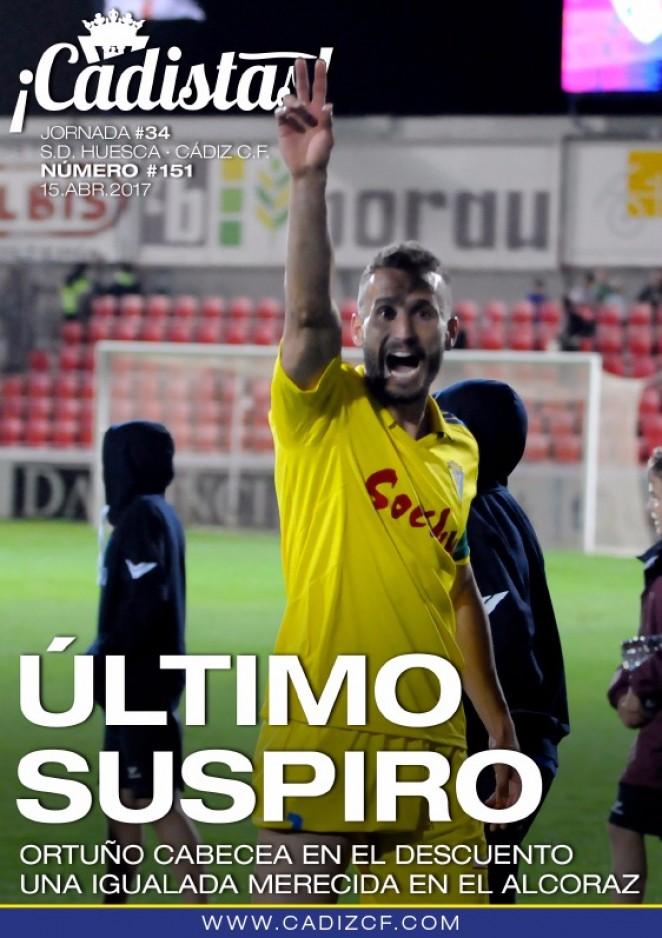 #151 SD Huesca - Cádiz CF
