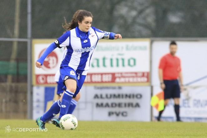 Tere Abelleira, capitana del Deportivo Abanca, al Campeonato de Europa Sub-17 con España