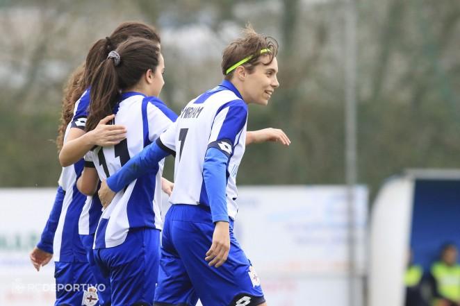 Miriam, María Corral y Nuria renuevan por una temporada con el Deportivo