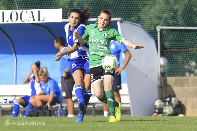 El Deportivo Abanca se hace con los servicios de Iris Arnaiz