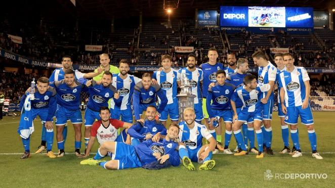 El Deportivo conquistó la LXXII edición del Trofeo Teresa Herrera, decano de los torneos amistosos a nivel mundial, tras batir por 2-0 a un correoso West Bromwich Albion