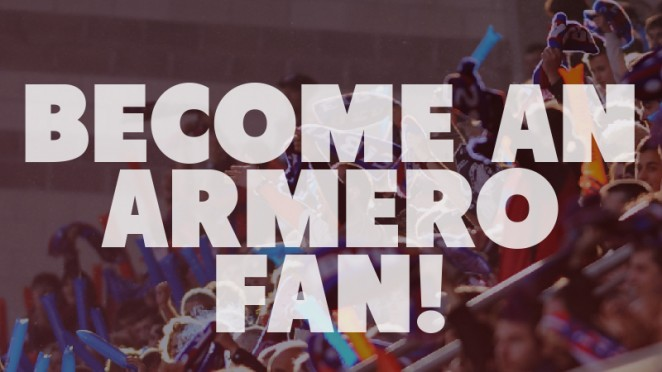 SDE / BECOME AN ARMERO FAN