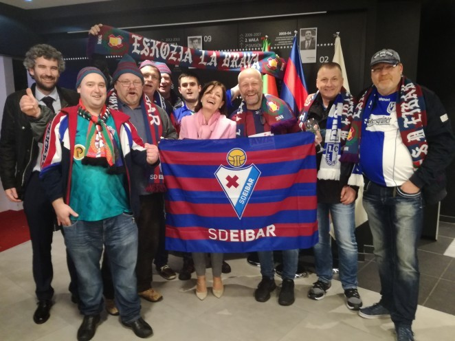 Historical record of official supporter clubs of Eibar | SD
