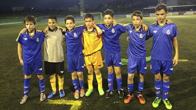 Siete jugadores de la cantera con la selecci n valenciana for Federacion valenciana de futbol