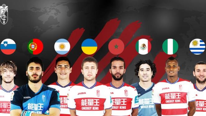 Ocho jugadores rojiblancos convocados por sus selecciones | Granada - Web Oficial