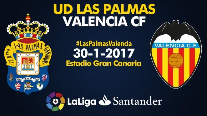 Resultado de imagen de UD Las Palmas - Valencia CF
