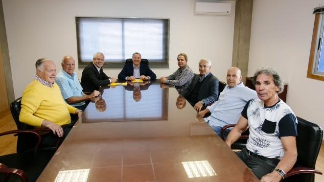 Acuerdo de colaboración entre la Fundación Canaria UD Las Palmas y la Asociación de Exjugadores