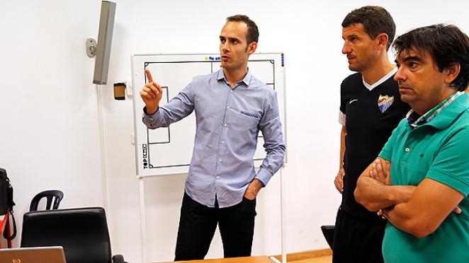 Melero López informs squad of arbitral rules for 2014/15 ...