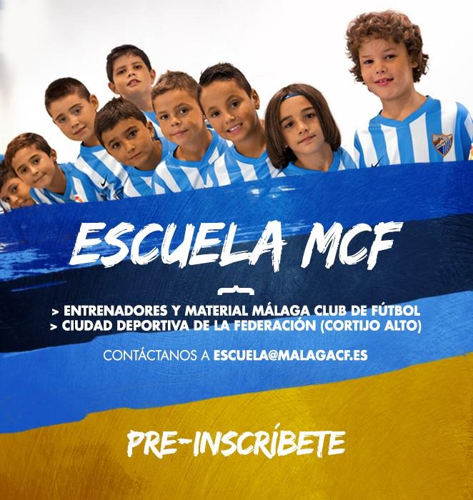 MCF / PREINSCRÍBETE EN LA ESCUELA MCF