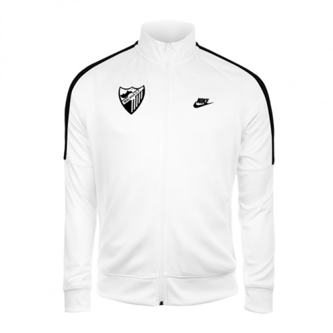 WHITE PREMATCH JACKET