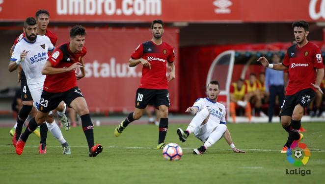 El Mallorca y el UCAM Murcia han empatado sin goles en el Iberostar Estadi
