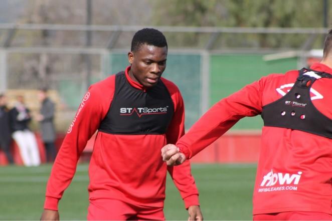 Daniel Arnaud Ndi es nuevo jugador del RCD Mallorca