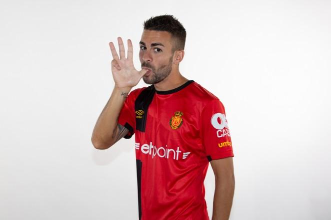 Dani Rodríguez, con la camiseta del Mallorca (Foto: RCD Mallorca).