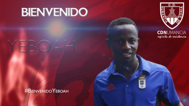 EXCLUSIVE: Spanish side CD Numancia sign Ghana's Yaw Yeboah from Manchester City