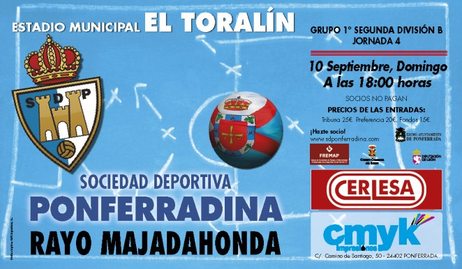 Jornada 4 Segunda División \'B\' Grupo I | Ponferradina - Web Oficial