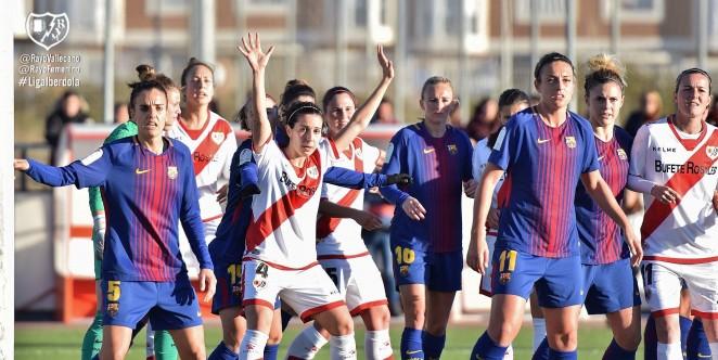 0f52be21c Rayo Femenino 1- FC Barcelona 2