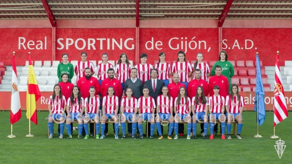 Plantilla real sporting femenino a sporting web oficial - Fotos del sporting de gijon ...