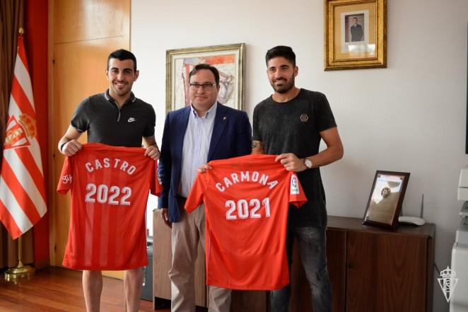 Resultado de imagen de carmona site:realsporting.com
