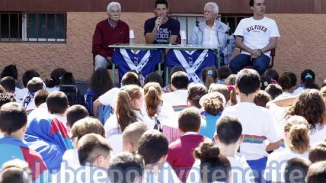 Pablo sicilia de visita al colegio ramiro de maeztu - Colegio aparejadores tenerife ...