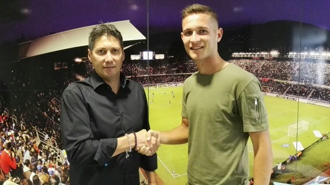 Jorge prolonga su vinculación con el CD Tenerife