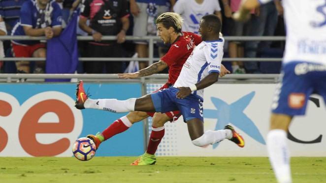 Los jugadores del CD Tenerife, esperanzados ante el decisivo choque de Getafe