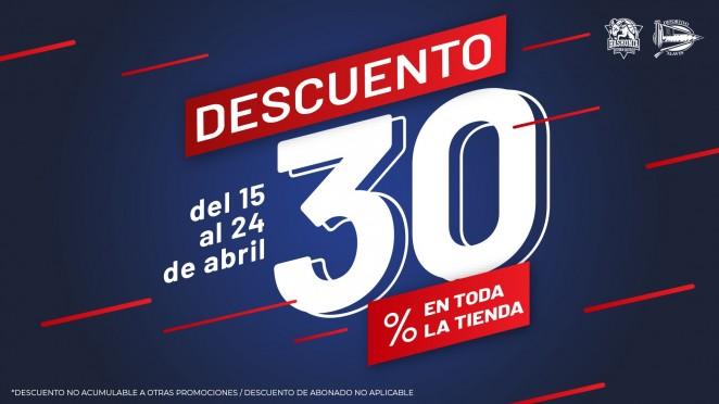 6d089eb6e1d Disfruta de un 30% de descuento en toda nuestra tienda!