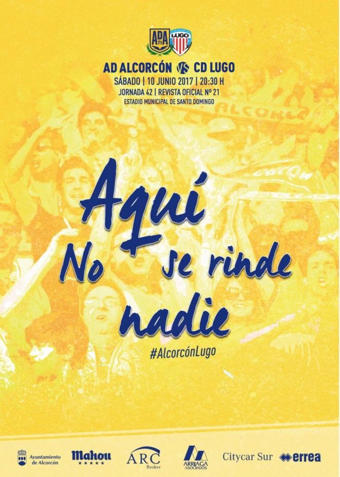 Revista oficial nº 21 AD Alcorcón - Temporada 2016 / 2017