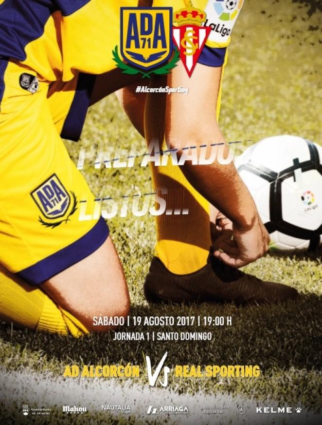 Revista oficial nº 1 - AD Alcorcón - Temporada 2017/2018