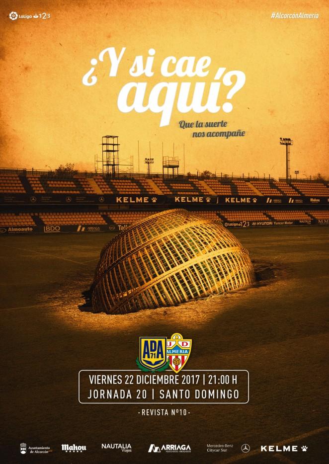 Revista oficial nº 10 - AD Alcorcón - Temporada 2017/2018