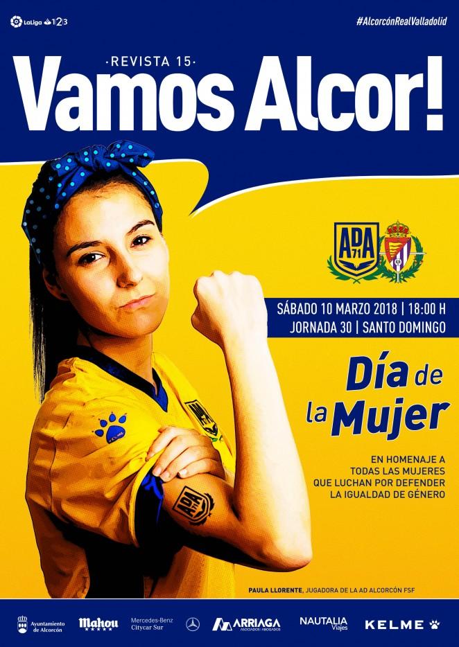 Revista oficial nº 15 - AD Alcorcón - Temporada 2017/2018