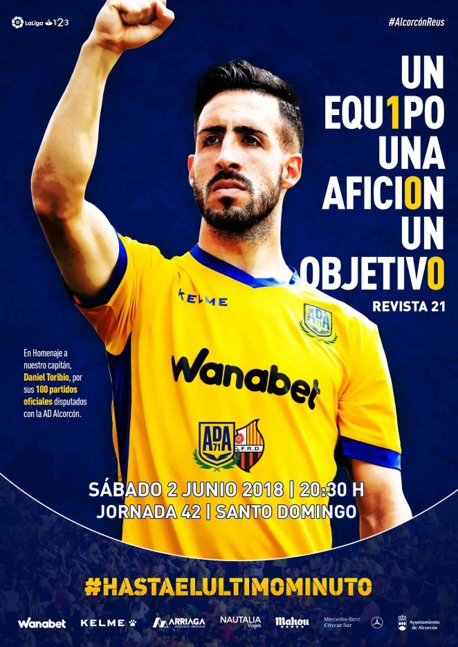 Revista oficial nº 21 - AD Alcorcón - Temporada 2017/2018