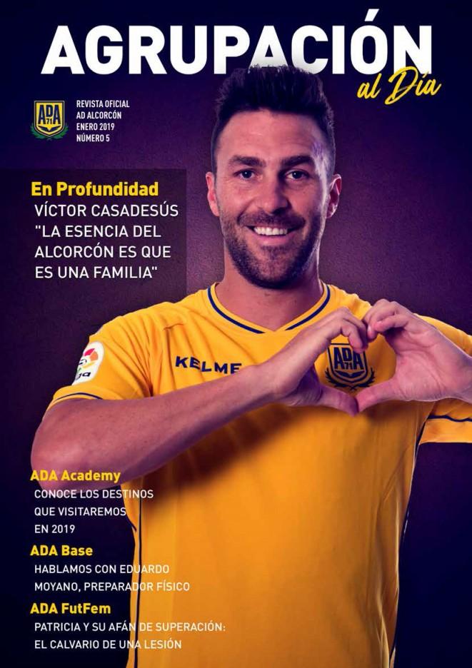 Revista oficial nº 5 - Agrupación al Día - Enero 2019