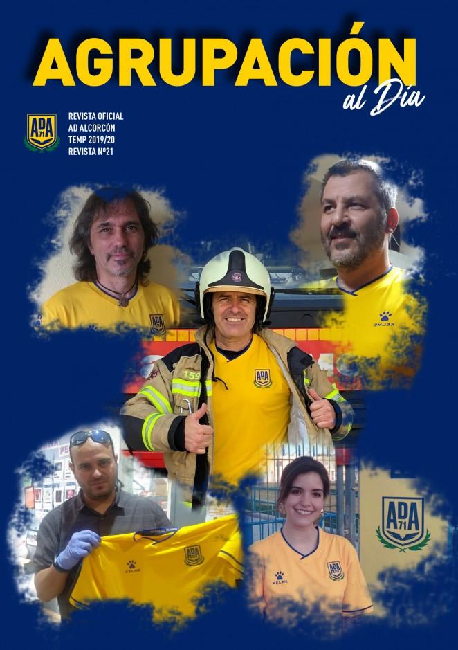 Revista oficial AD Alcorcón - nº 21 - Temporada 2019/2020