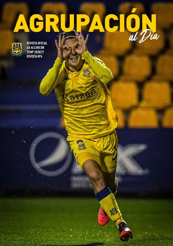 Revista oficial AD Alcorcón - nº 6 - Temporada 2020/2021