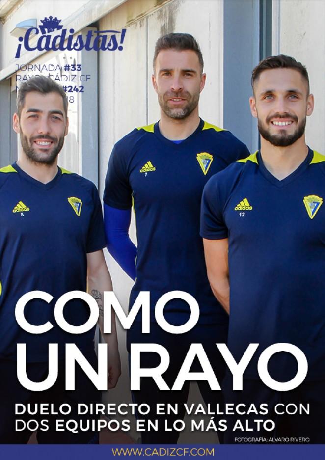 #242 Previa Rayo Vallecano - Cádiz CF