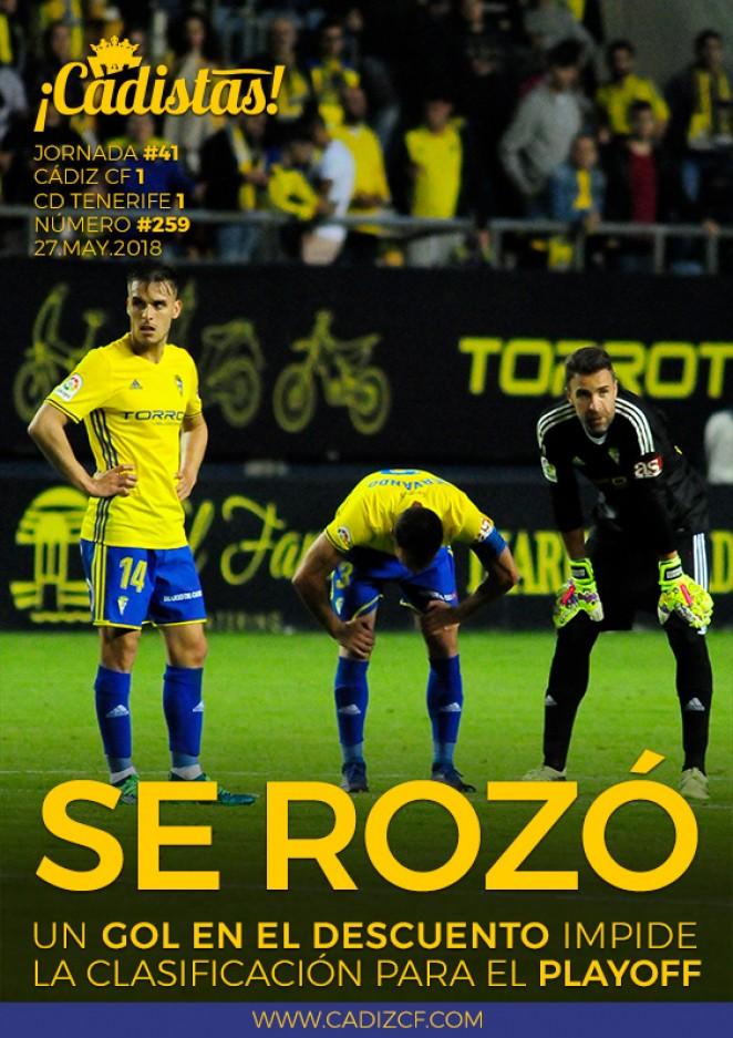 #259 Cádiz CF - CD Tenerife