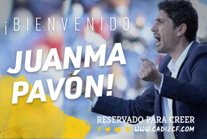 Juanma Pavón, nuevo entrenador del Cádiz B (Foto: CCF).