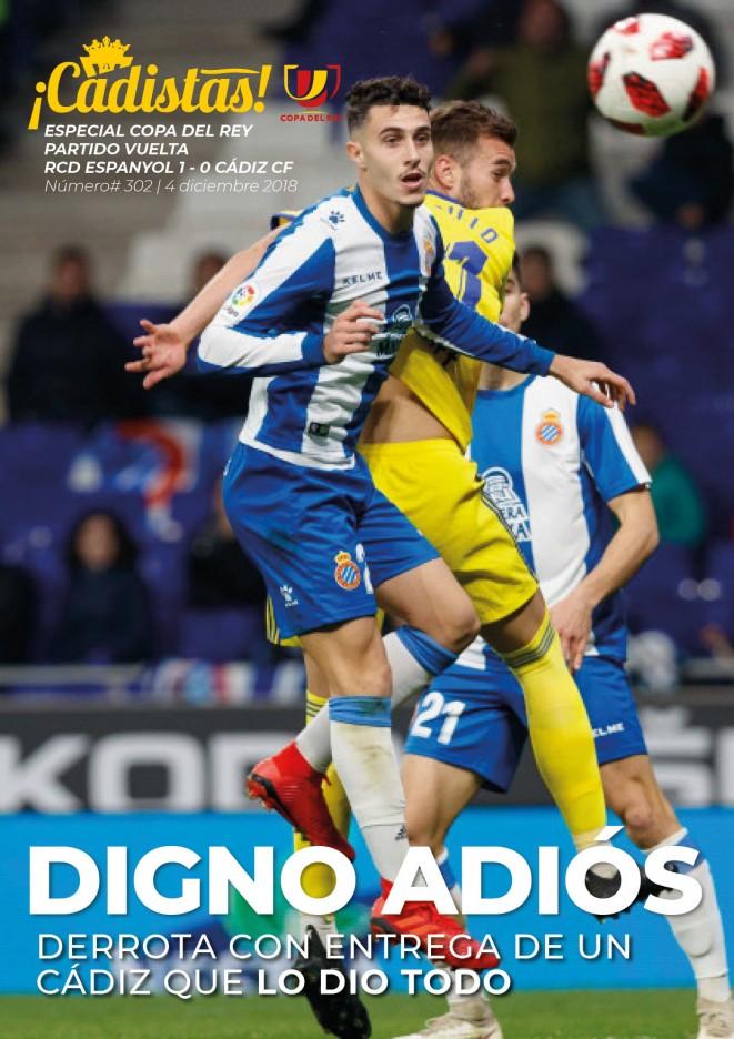 #302 Espanyol - Cádiz (Copa)