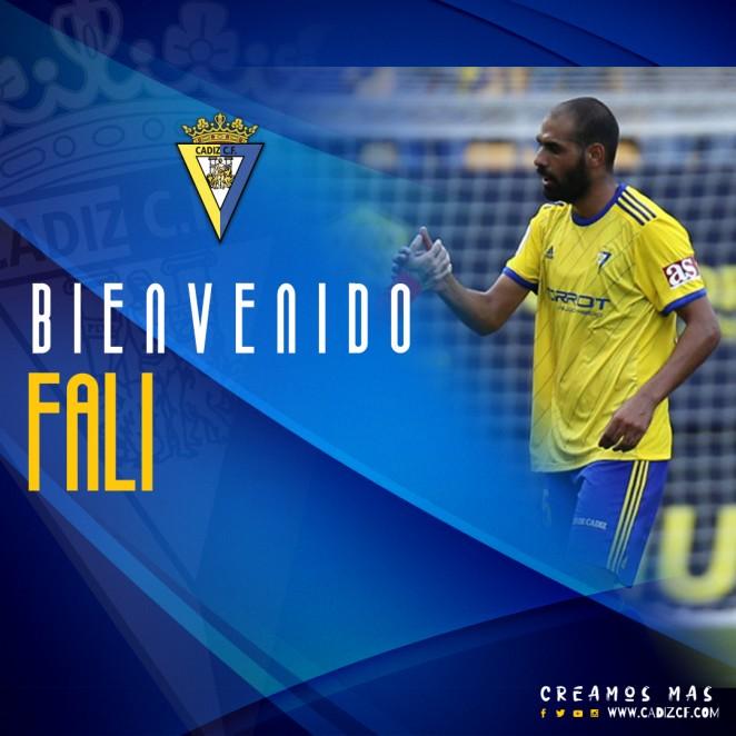 Fali, nuevo jugador del Cádiz.